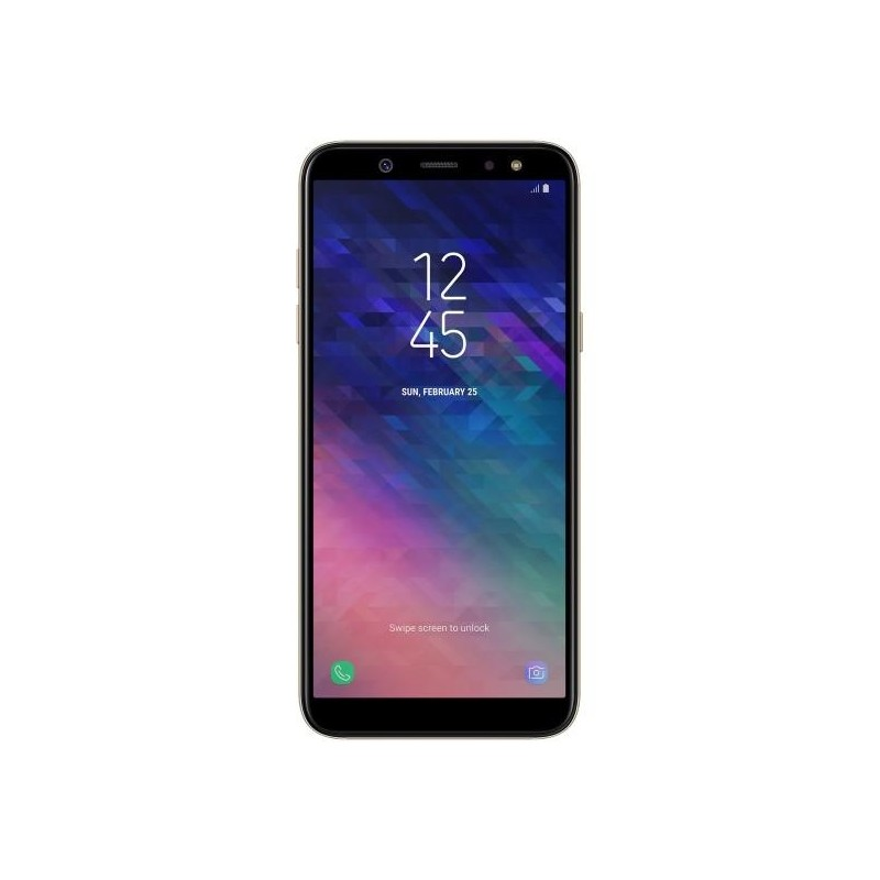 Samsung Galaxy A6, (2018) A600 DUAL SIM Gold